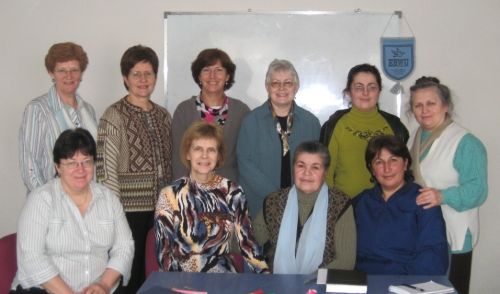 The EBWU committee, with the Armenian women representatives