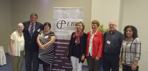 The EBWU representatives and the EBF leaders
