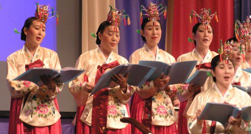 Korean choir